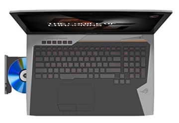 Asus ROG G752VM-GC017T Gaming Laptop oben