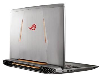Asus ROG G752VM-GC017T Gaming Laptop hinten seite